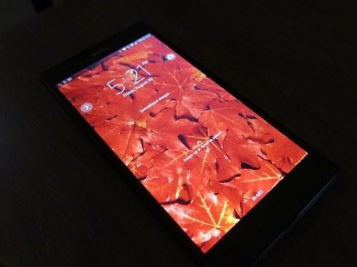 نمایشگر تصاویر Xperia Z Ultra