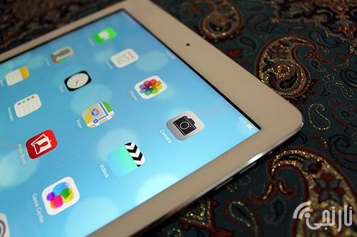 صفحه نمایش تصاویر  iPad Air 128GB- Wi-Fi + Cellular with 3G/LTE