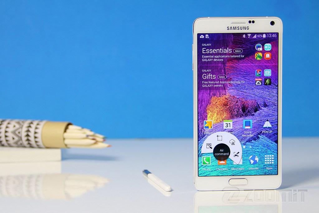 صفحه نمایش تصاویر Galaxy Note 4-SM-N910H