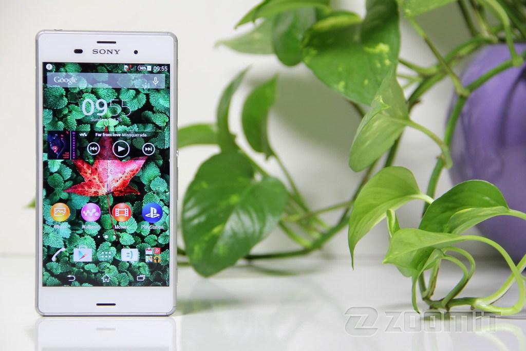طراحی و سختافزار تصاویر Xperia Z3 Dual