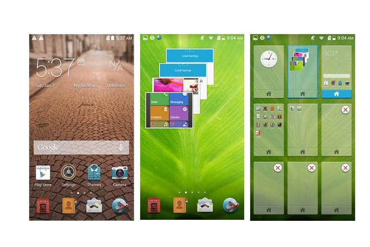 رابط کاربری گرافیکی (Standard) تصاویر Honor 3C