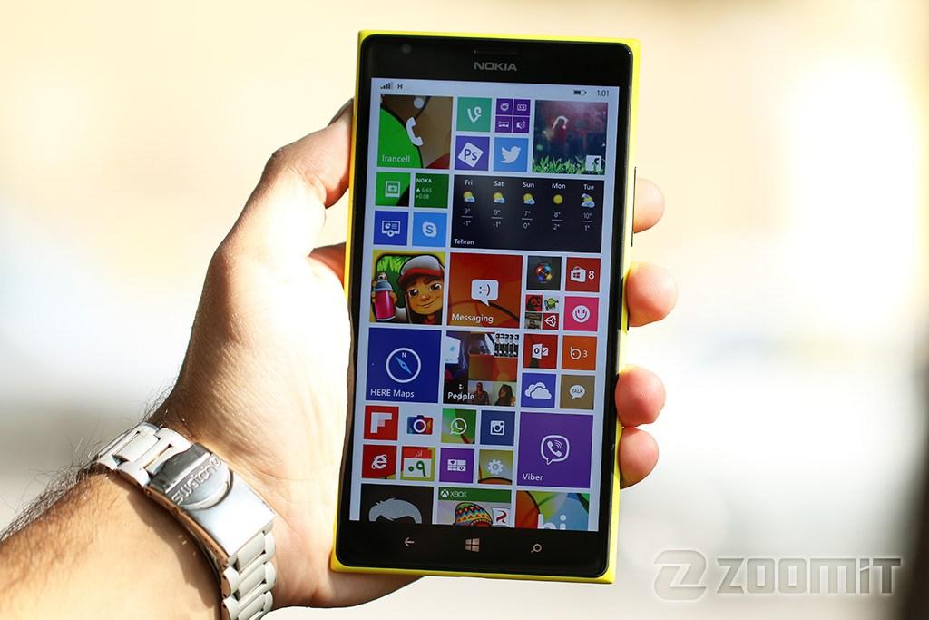 تصاویر Lumia 1520