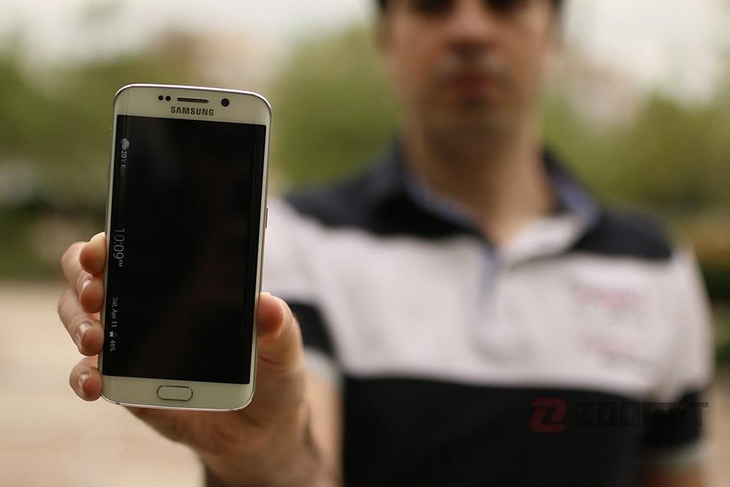 تصاویر Galaxy S6 edge