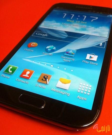 صفحه نمایش   تصاویر Galaxy Note II N7100-16GB