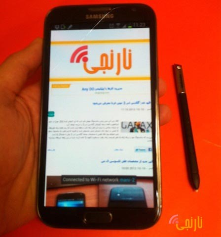 تصاویر Galaxy Note II N7100-16GB