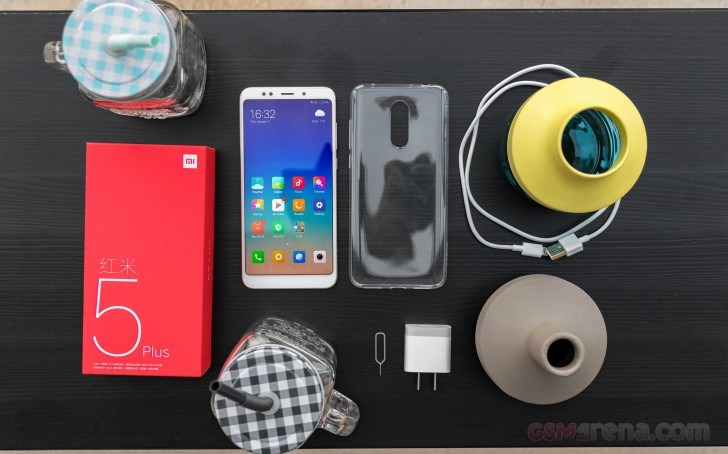 محتویات جعبه رد می 5 پلاس تصاویر Redmi 5 Plus