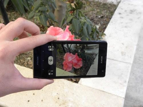دوربین تصاویر  Xperia TX-LT29i