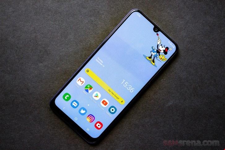 تصاویر Galaxy A50s