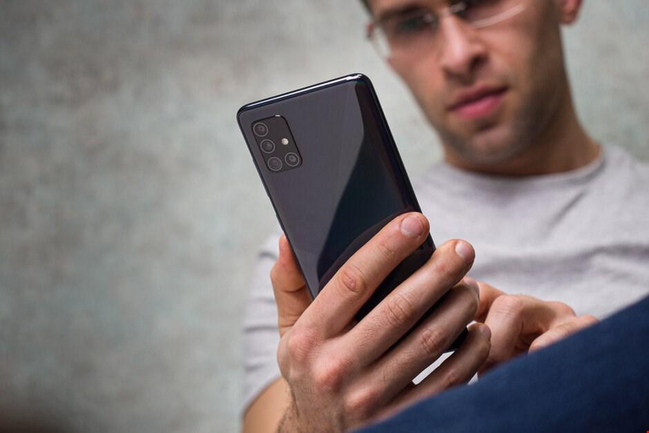 تصاویر Galaxy A51
