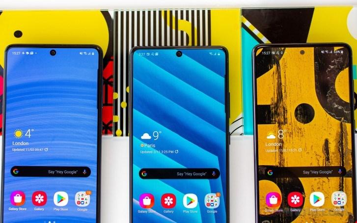 تصاویر Galaxy A71