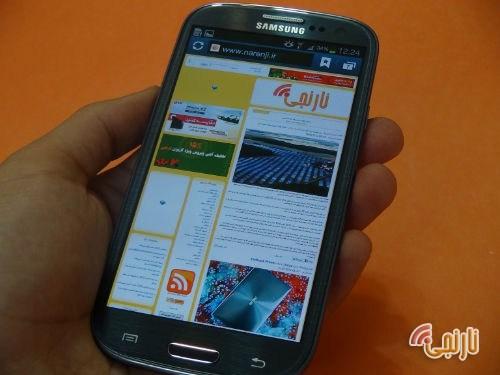 صفحه نمایش تصاویر I9300 Galaxy S III