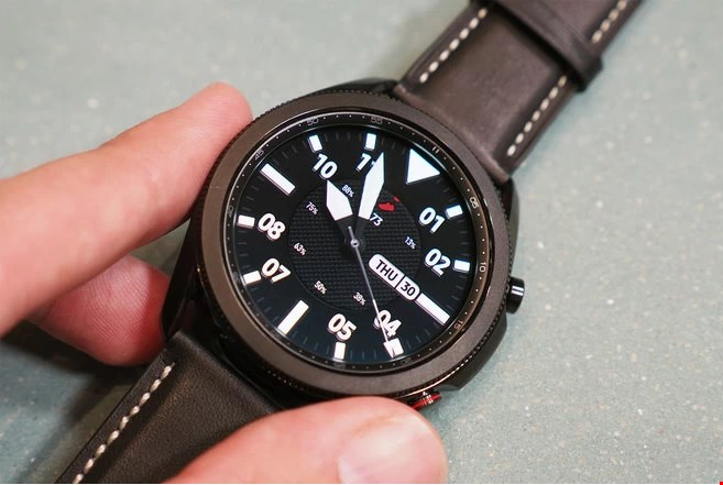 تصاویر Galaxy Watch 3