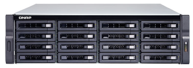 ذخیره ساز تحت شبکه -NAS کیونپ-QNAP TS-1673U-RP-16G-US 16GB 16-Bay Diskless NAS server