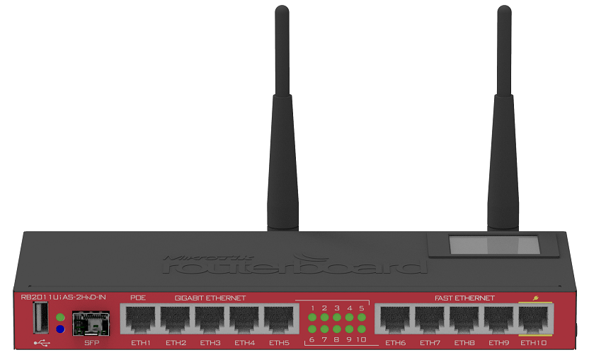 روتر -Router میکروتیک-Mikrotik RB2011UiAS-2HnD-IN