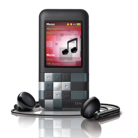 MP3 & MP4 Player كريتيو-Creative ZEN Mozaic 8GB