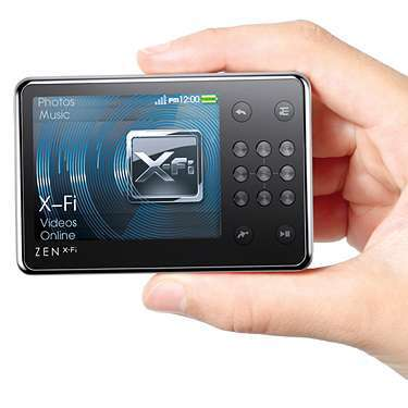 MP3 & MP4 Player كريتيو-Creative ZEN X-Fi 16GB