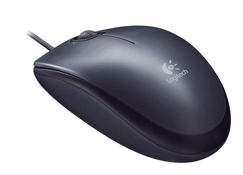 موس - Mouse لاجيتك-Logitech M90 Corded Optical Mous