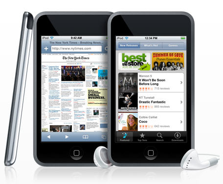 MP3 & MP4 Player اپل-Apple iPod Touch 64GB