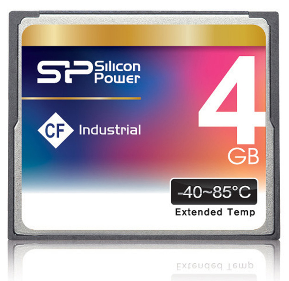 كارت حافظه / Memory Card  -SILICON POWER Industrial CF Card - 512MB