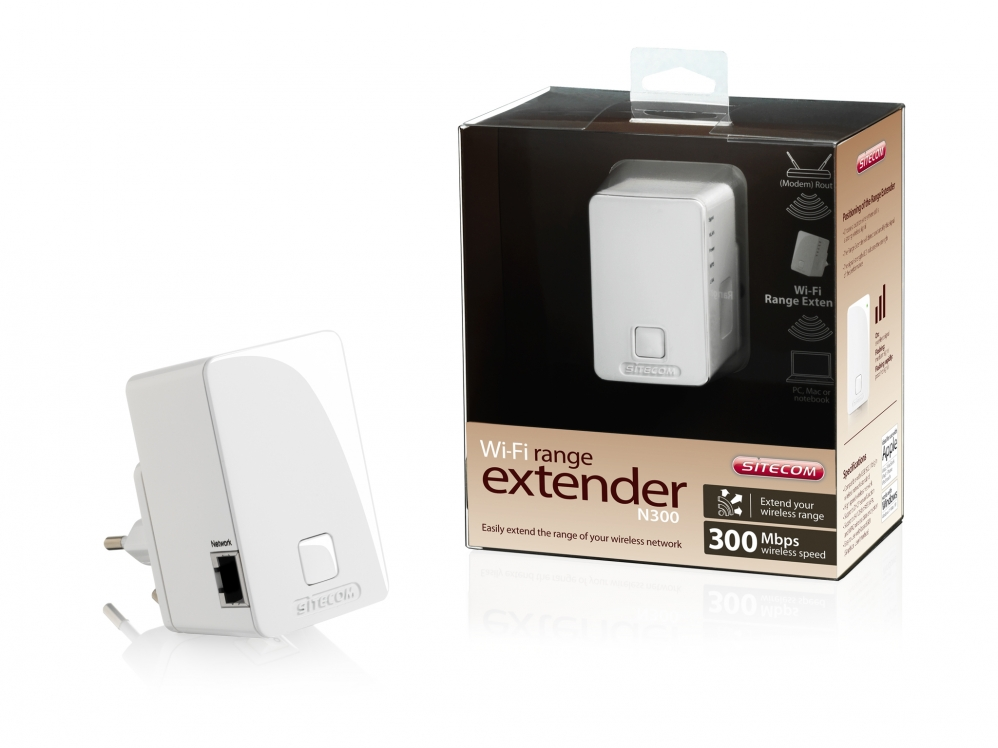 اکسس پوینت -  Access Point -sitecom Wi-Fi Wall Mount Range Extender N300 WLX-2003