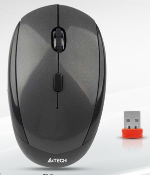موس - Mouse ايفورتك-A4Tech  Wireless PADLESS NoLag Series G7-200NX