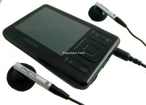 MP3 & MP4 Player كريتيو-Creative ZEN 2 Gb