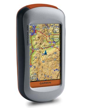 جی پی اس دستی - GPS گارمین-Garmin Oregon 300
