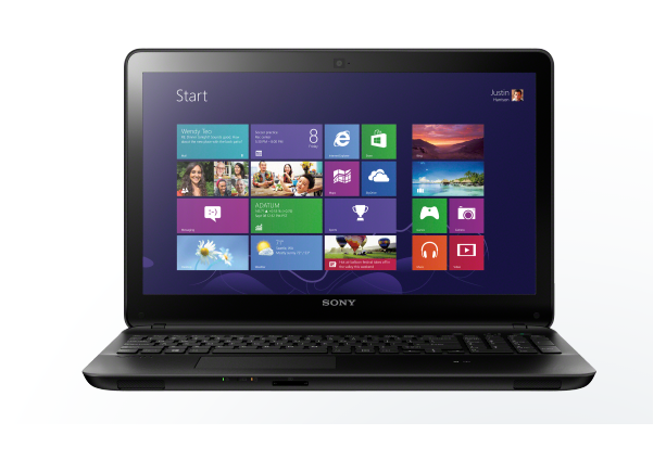 لپ تاپ - Laptop   سونی-SONY SVF15412CX-AMD A8-4GB-750GB-INTEL