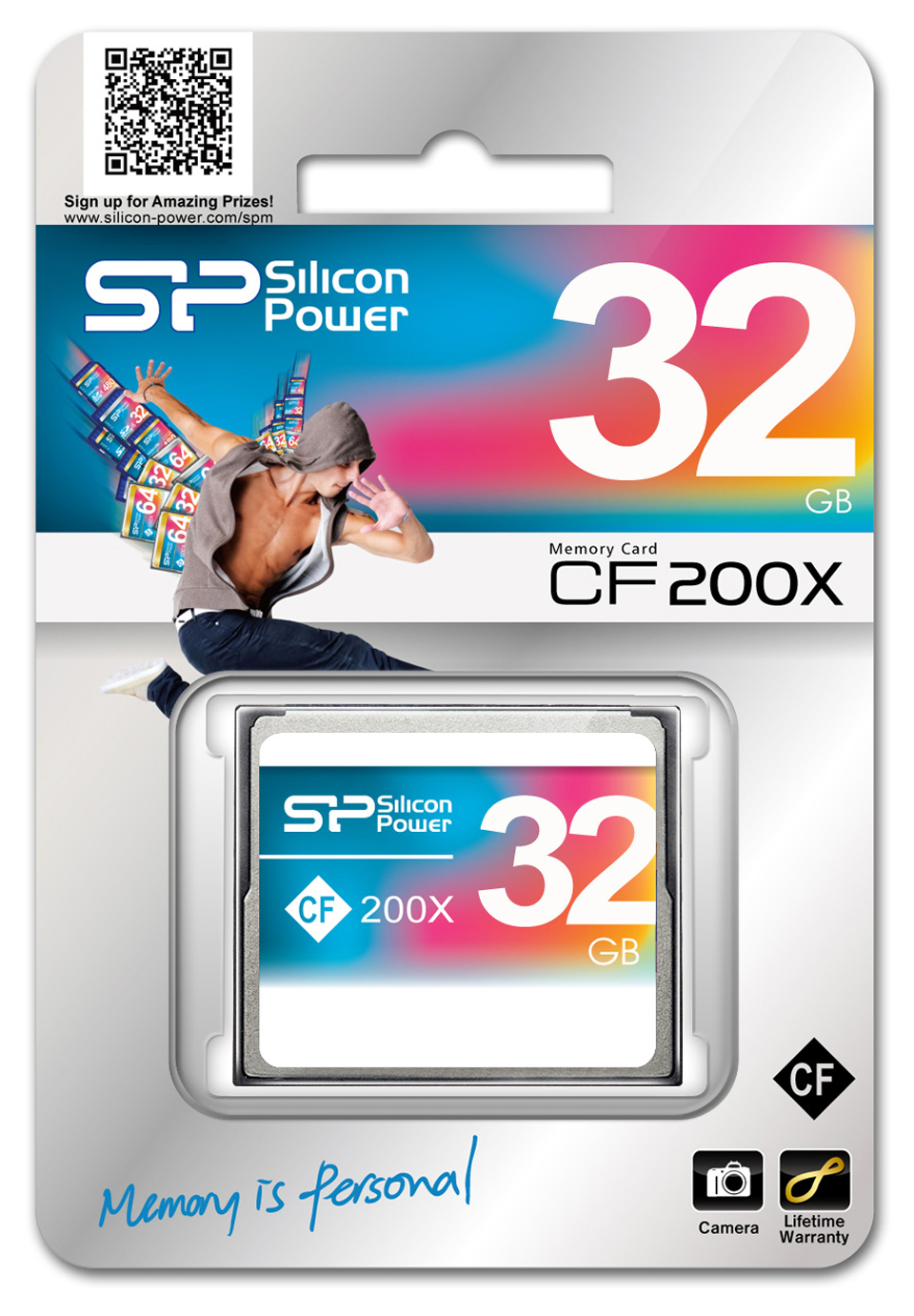 كارت حافظه / Memory Card  -SILICON POWER 200X Compact Flash Card-32GB