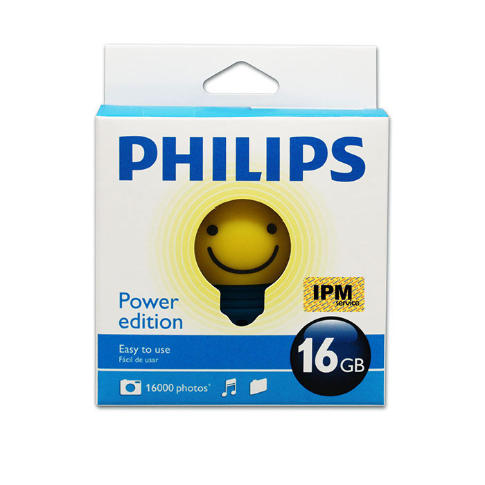 حافظه فلش / Flash Memory فیلیپس-PHILIPS Mr.Power-16GB