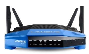 روتر -Router  -Linksys WRT1900ACS DUAL-BAND WI-FI ROUTER WITH ULTRA-FAST 1.6 GHZ CPU