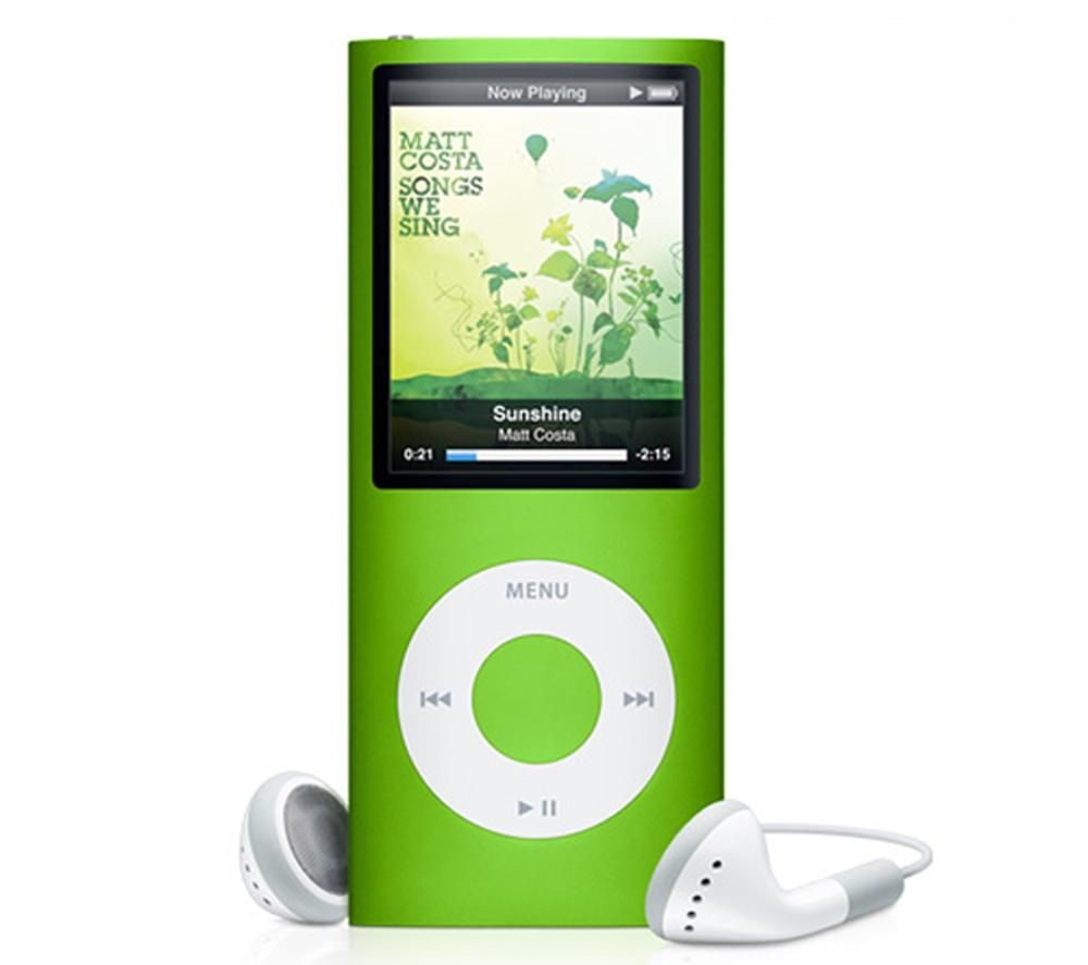 MP3 & MP4 Player اپل-Apple iPod Nano 16GB Green