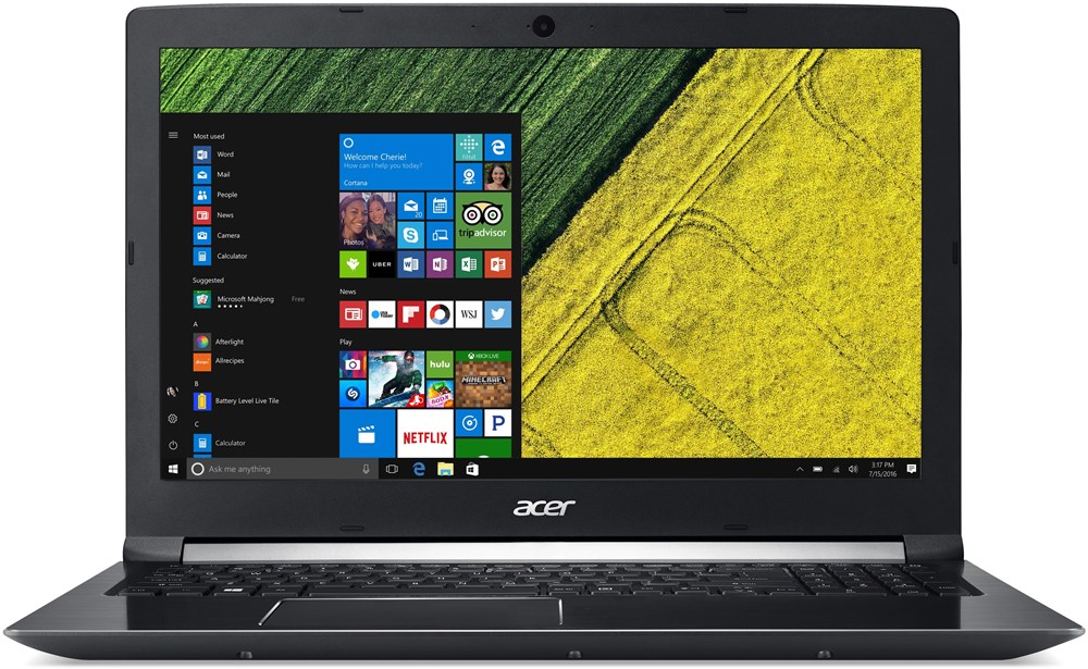 لپ تاپ - Laptop   ايسر-Acer Aspire 7 A715-71G - Core i7-16GB-1TB+128 SSD-4GB-  FULL HD