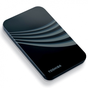 هارد اكسترنال - External H.D توشيبا-TOSHIBA Portable External H.D.D 320 Gb