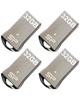 SILICON POWER فلش مموری مدل Touch T01 ظرفیت 32 گیگابایت بسته 4 عددی
