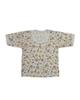 - تی شرت آستین کوتاه نوزادی مدل H3500 - سفید - طرح خرس و جغد