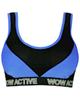 لباس زنانه نیم تنه ورزشی زنانه ماییلدا کد 3411-5 - آبی مشکی