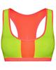 لباس زنانه نیم تنه ورزشی زنانه کد 340004012 - سبزفسفری نارنجی