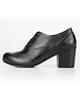 چرمیران کفش مجلسی زنانه مدل PWP1053 - مشکی - چرم طبیعی - طرح فلوتر
