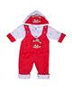 - سرهمی نوزادی مدل خرسی کد So10 رنگ قرمز
