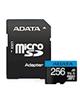 ADATA کارت حافظه microSDXC -premier کلاس 10 -UHS-I U1 سرعت 100- 256GB