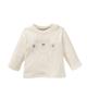 lupilu تیشرت نوزادی کد 10093 - شیری - طرح خرس - آستین بلند