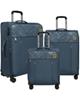 - مجموعه سه عددی چمدان نشنال جئوگرافیک مدل  NG11 - 700479 -سرمه ای