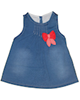 - پیراهن نوزادی دخترانه مدل PapilonLee - آبی تیره - پلی استر