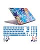صالسو آرت استیکر لپ تاپ مدل 5033 hk با برچسب حروف فارسی کیبورد - طرح موزیک