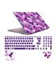 صالسو آرت استیکر لپ تاپ 5027 hk با برچسب حروف فارسی کیبورد- طرح بنفش صورتی