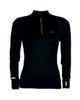Zoano تیشرت ورزشی زنانه مدل FC42103 - رنگ مشکی جذب آستین دار