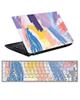 - استیکر لپ تاپ طرح یاسی کد0219-99برای15.6اینچ+برچسب فارسی کیبورد