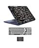 - استیکر لپ تاپ کد blk-brd به همراه برچسب حروف فارسی کیبورد