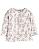 lupilu تیشرت نوزادی کد lusb00178 - شیری - طرح پرنده - آستین بلند